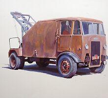 Maudslay breakdown lorry. by Mike Jeffries