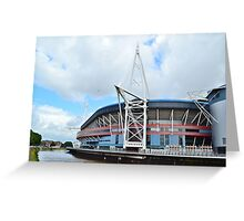 The Millennium Stadium, Cardiff Greeting Card