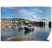 Mousehole Harbour 2 ~ Cornwall Poster