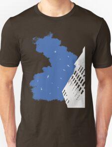 The Battleground Is Everywhere (blue) T-Shirt