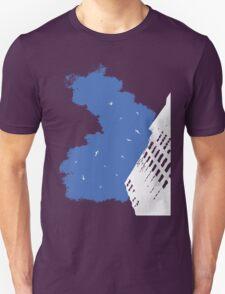 The Battleground Is Everywhere (blue) Unisex T-Shirt