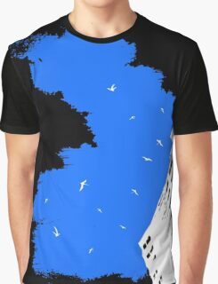 The Battleground Is Everywhere (blue) Graphic T-Shirt
