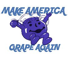 Make America Grape Again by jfractalj