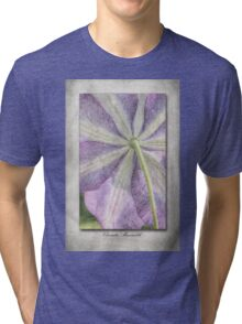 Clematis Miniseelik Tri-blend T-Shirt