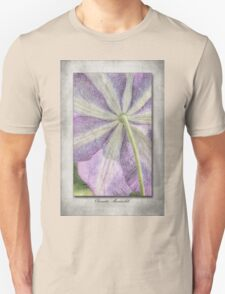 Clematis Miniseelik Unisex T-Shirt