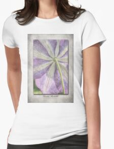 Clematis Miniseelik Womens Fitted T-Shirt