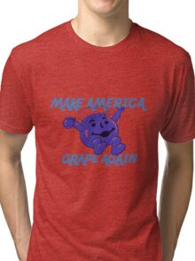 Make America Grape Again Tri-blend T-Shirt