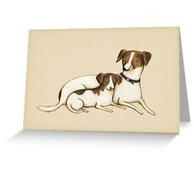 Jack Russels Greeting Card