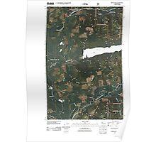 USGS Topo Map Washington State WA Devils Slide 20110428 TM Poster
