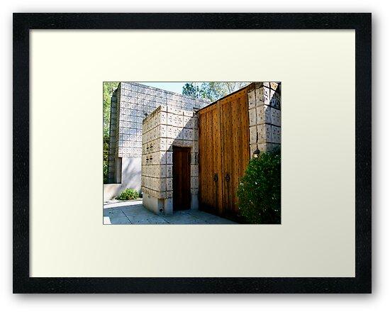 The Millard House by Frank Lloyd Wright by philw