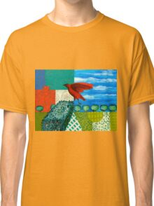 Redcrow In The Garden Classic T-Shirt