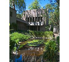 The Millard House by Frank Lloyd Wright Photographic Print