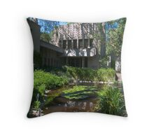 The Millard House by Frank Lloyd Wright Throw Pillow