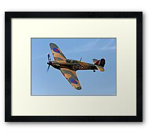 Hawker Hurricane Mk1 R4118/ UP-W Framed Print