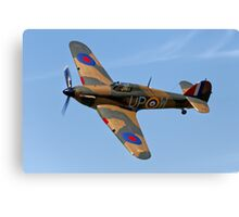 Hawker Hurricane Mk1 R4118/ UP-W Canvas Print