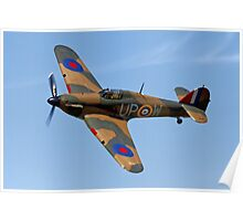 Hawker Hurricane Mk1 R4118/ UP-W Poster
