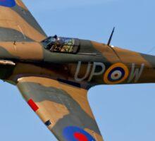 Hawker Hurricane Mk1 R4118/ UP-W Sticker