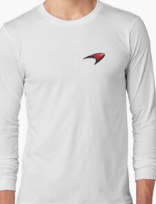 McLaren Logo Long Sleeve T-Shirt