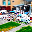Minneapolis Mill City Farmer's Market Tilt-Shift by CGrossmeier
