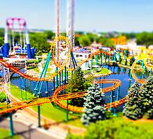 Valley Fair Cork Screw Tilt-Shift by CGrossmeier