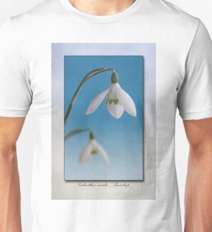 Galanthus nivalis Unisex T-Shirt