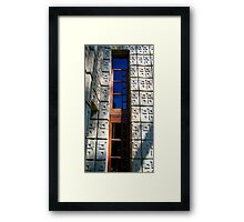 The Millard House. By Frank Lloyd Wright Framed Print