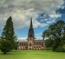 Church of St. Mary the Virgin, Clumber Park by cameraimagery