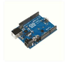 Arduino Board Art Print