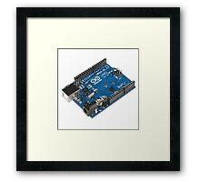 Arduino Board Framed Print