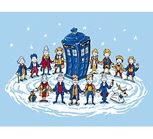 Doctor Whoville - Holiday Christmas Shirt Photographic Print