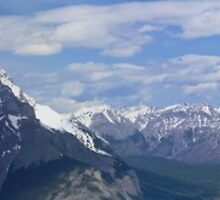 Banff Panorama by Aaron Fisher