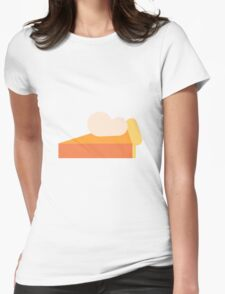 Pumpkin Pie Womens Fitted T-Shirt