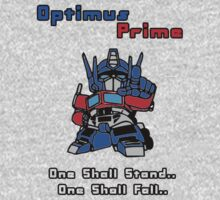 Optimus Prime - One Shall Stand.. Kids Clothes