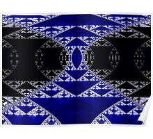 Sierpinski Pillars 2 ~ Ultra Fractal..  Poster