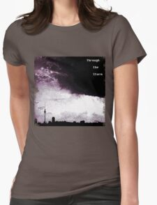 Through the Storm  Womens Fitted T-Shirt