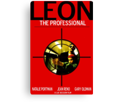 Leon: The Professional Canvas Print