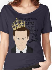 You should see Moriarty in a crown Women's Relaxed Fit T-Shirt