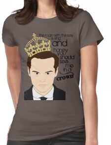 You should see Moriarty in a crown Womens Fitted T-Shirt