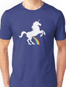 Unicorn Rainbow Pee Unisex T-Shirt