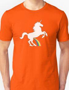 Unicorn Rainbow Pee Unisex T-Shirt