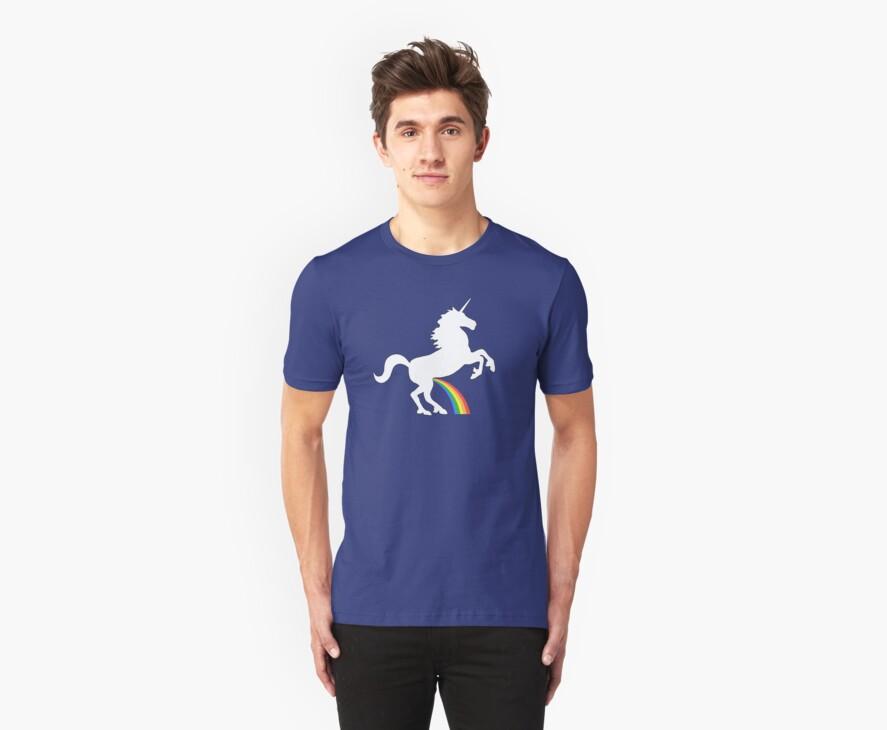 Unicorn Rainbow Pee by jezkemp
