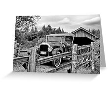 Over the River and Through the Woods........... Greeting Card
