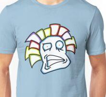 Retro Tiki Mask Smirk Unisex T-Shirt