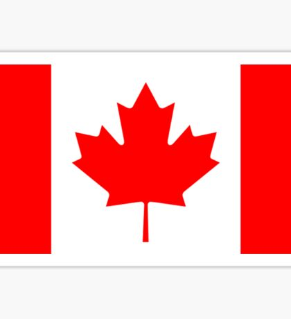 CANADA, CANADIAN, Canadian Flag, Canada Flag, Pure & Simple, National Flag of Canada, 'A Mari Usque Ad Mare' Sticker