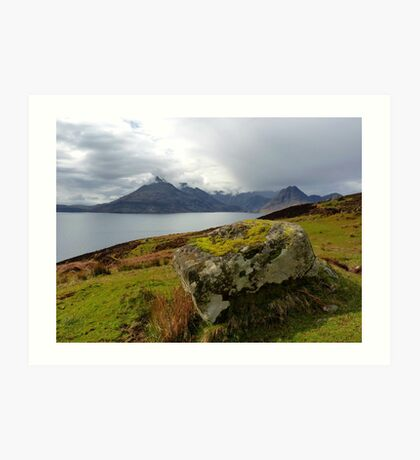 Cuillin View Art Print