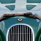 1952 Jaguar XK 120 John May Special Hood Emblem 2 by Jill Reger