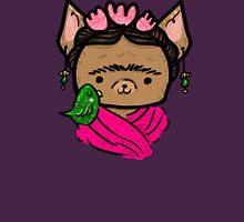 Frida Chihuahua II Womens Fitted T-Shirt