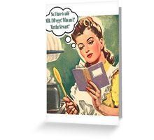 Baking Time Greeting Card