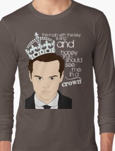You should see Moriarty in a crown 2 Long Sleeve T-Shirt