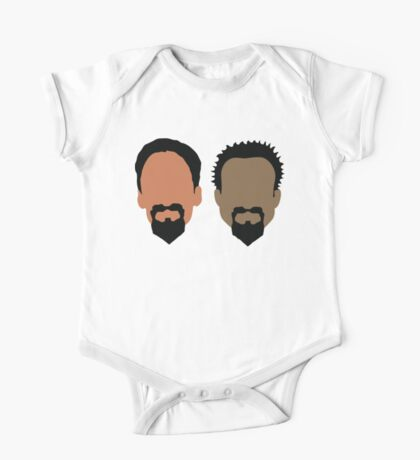 Evil Troy and Evil Abed One Piece - Short Sleeve